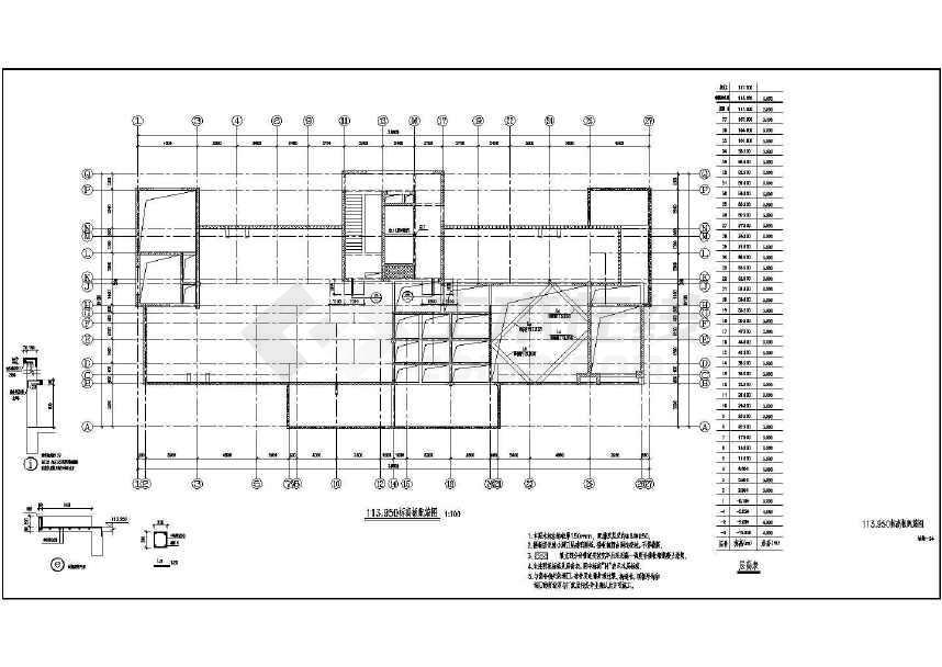 某地大型超高层住宅全套结构施工图纸-图3