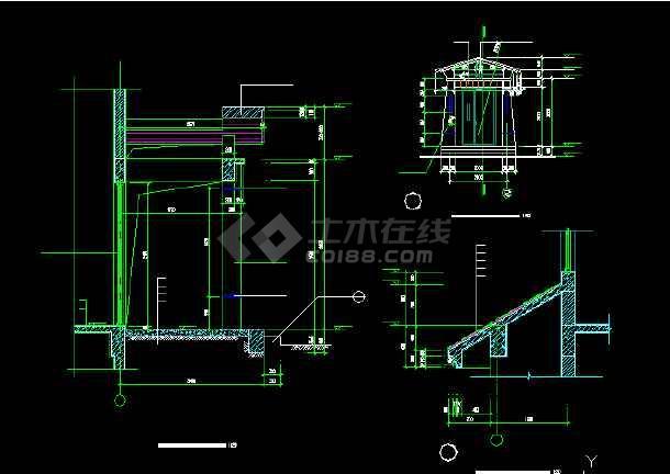 一套经典的四层别墅建筑结构图纸(共11张)-图2