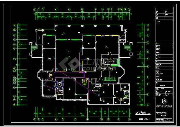 某地大型豪华别墅建筑电气设计cad施工图(含设计说明)-图2