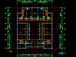 某地仿古建筑施工设计CAD详细图纸图片3