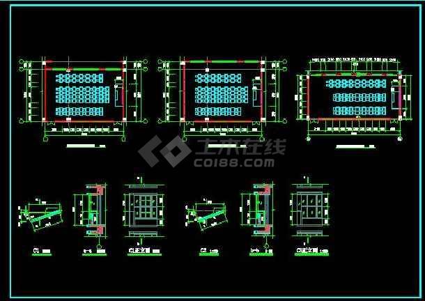 某职业技术学院建筑全套施工设计图纸-图2