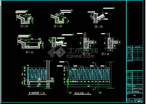 安徽省电气工程学校3层恢复楼cad图纸-图3