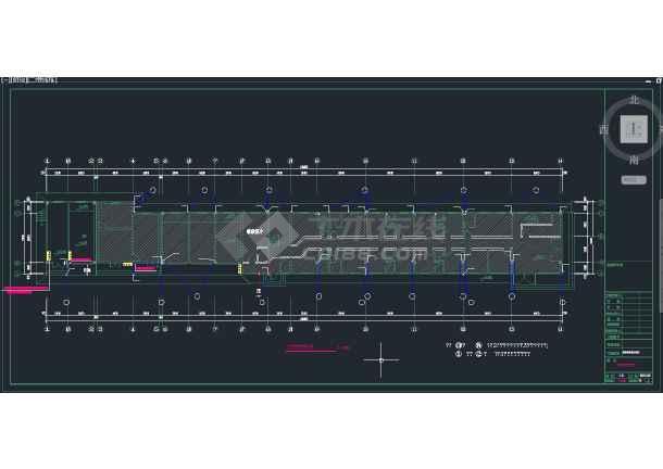 安徽合肥某2层中型快捷酒店加建第3层改造给排水图-图3