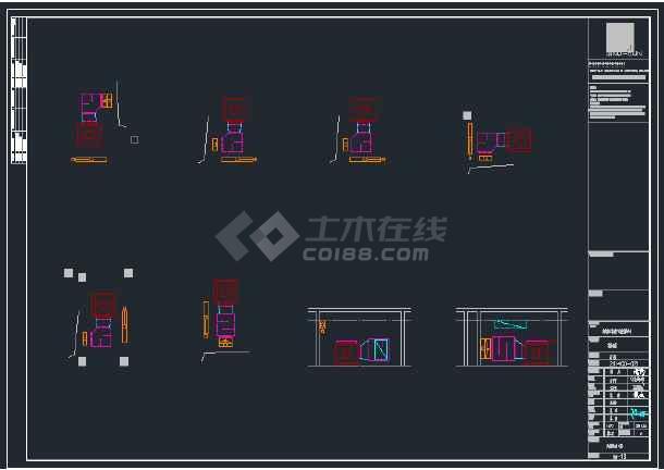 花桥雅苑-地下室-暖通大样图-图3
