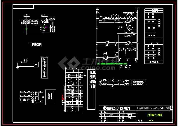 公路站新增250kVA配电工程施工图纸(电气部分+土建部分)-图2