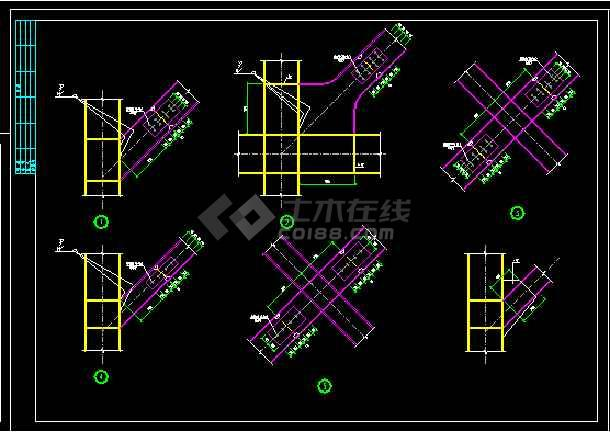 某小区独立变电站结构cad设计图-图二
