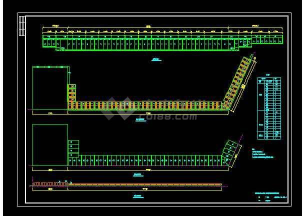 某货运码头结构cad施工设计图纸-图2