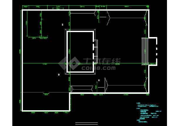 点击查看古建筑消防设计蓝图孔子庙消防设计第1张大图