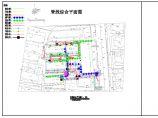 某地公建室外管线综合施工图cad图片1