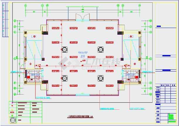 点击查看某小区物业用房装修施工图(含设计说明)第2张大图