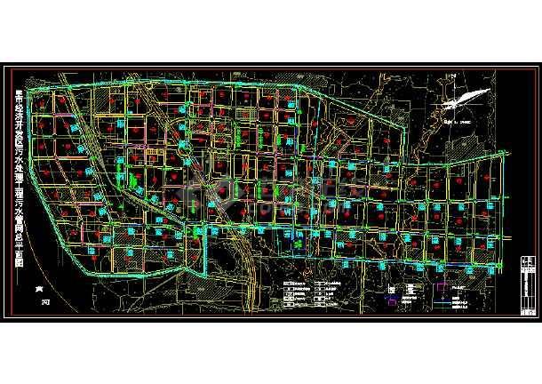 某市排水管网布置平面图(规范版本)-图1