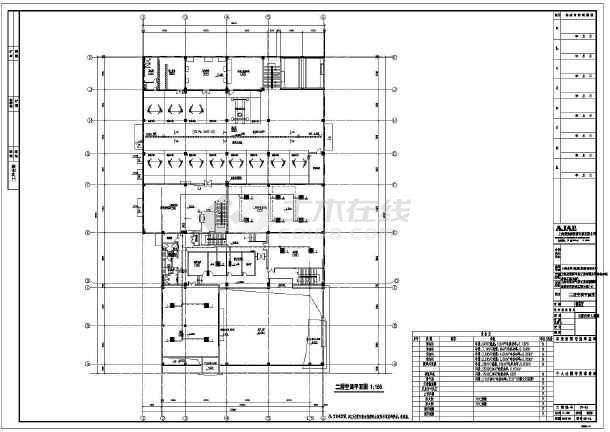 某气体工业有限公司维修车间暖通设计改造图-图2
