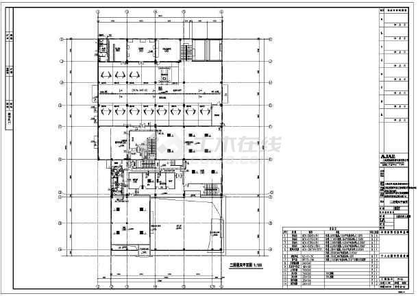 某气体工业有限公司维修车间暖通设计改造图-图3
