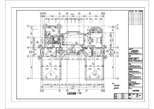 东莞某三层钢结构别墅图纸-图1