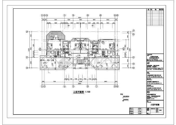东莞某三层钢结构别墅图纸-图2