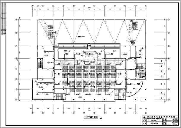 某大学新校区学生食堂全套暖通空调cad施工设计-图2