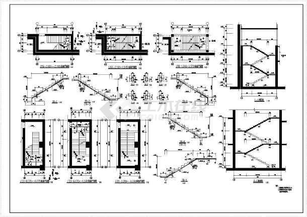 小高层住宅楼结构cad建筑工程施工图-图1