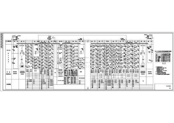 某18层酒店电气cad设计施工图纸-图2