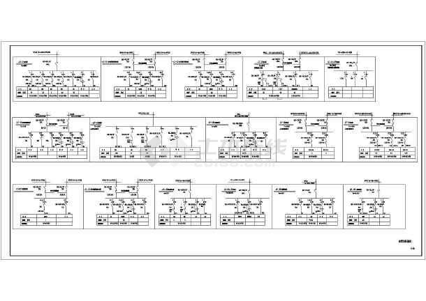某18层酒店电气cad设计施工图纸-图3