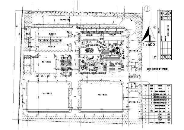 某工厂厂区路灯照明电气设计cad施工图-图2