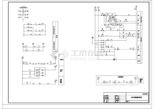 35KV窑上变电站设计cad电气施工图-图1