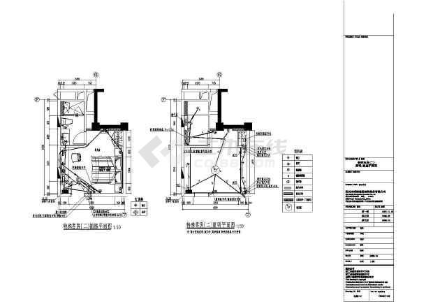 某酒店客房内整套电气设计cad施工图-图2