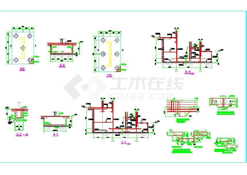 某高层剪力墙结构(含桩基)结构设计图-图2