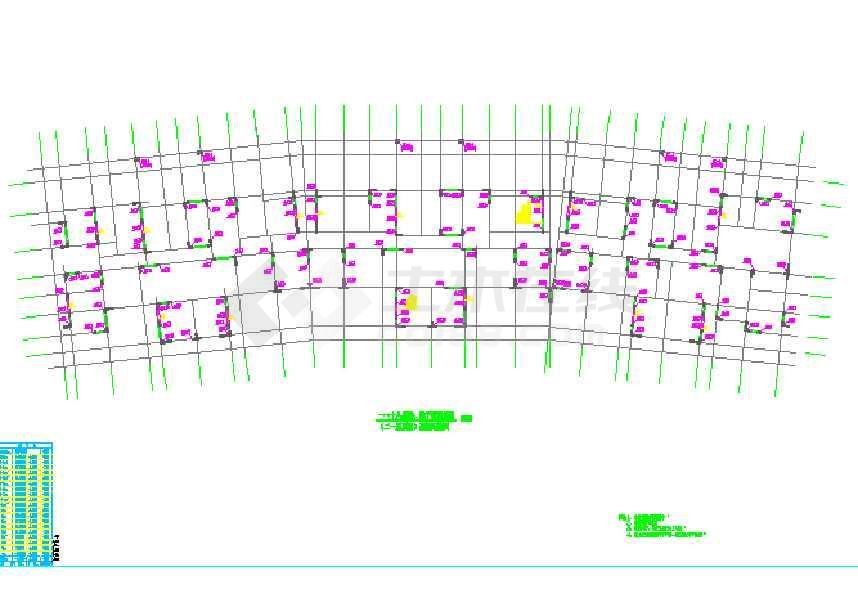 某高层剪力墙结构(含桩基)结构设计图-图3