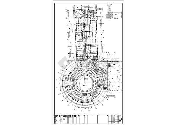 某科技馆电气cad施工设计图-图2