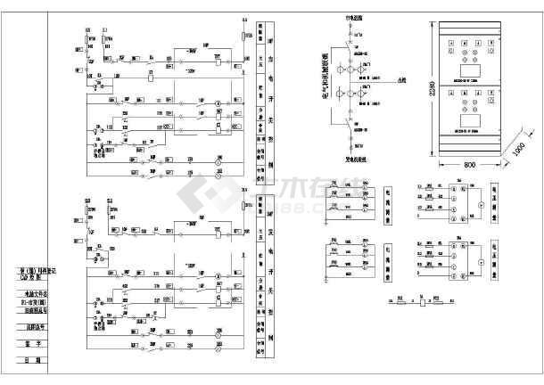 典型低压0.4KV空气断路器电气原理图-图3