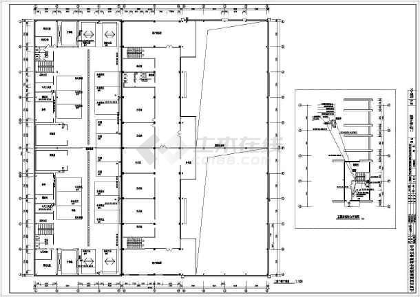 某汽车4s销售店整套电气cad施工图纸-图3