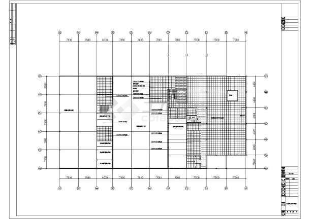 某地比亚迪4S店装修设计图-图1