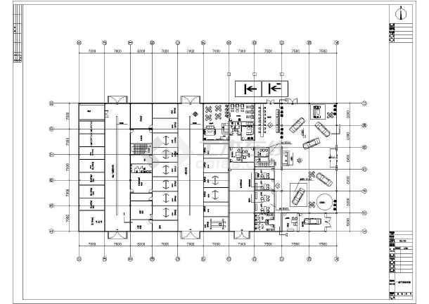 某地比亚迪4S店装修设计图-图2
