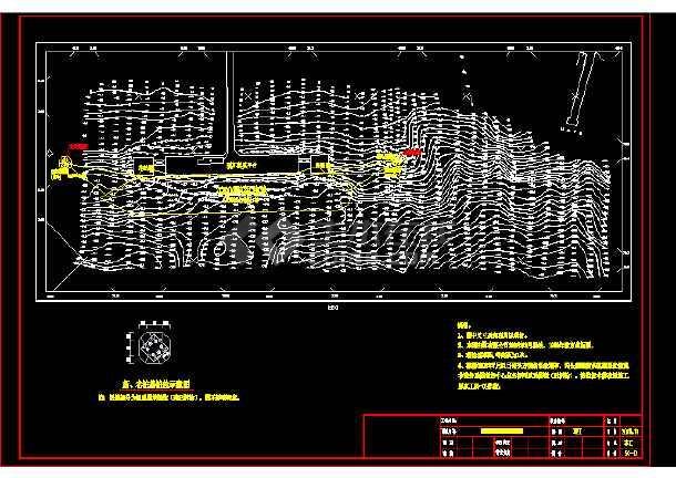 油库码头1000KN系缆墩修复工程竣工图-图2