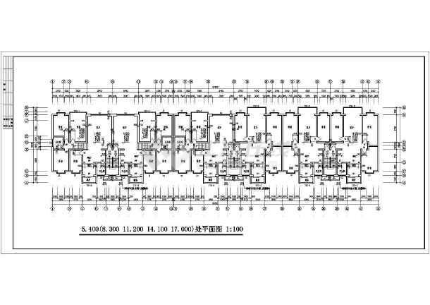 某地区一套多层住宅建筑图-图2