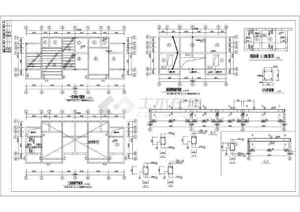 某地区多层住宅建筑图-图1
