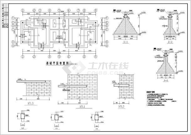某地区多层住宅建筑图-图3