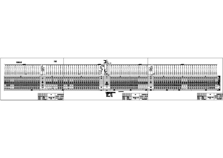 某房地产开发公司配电工程GCS型低压开关柜设计cad电气原理图图片3