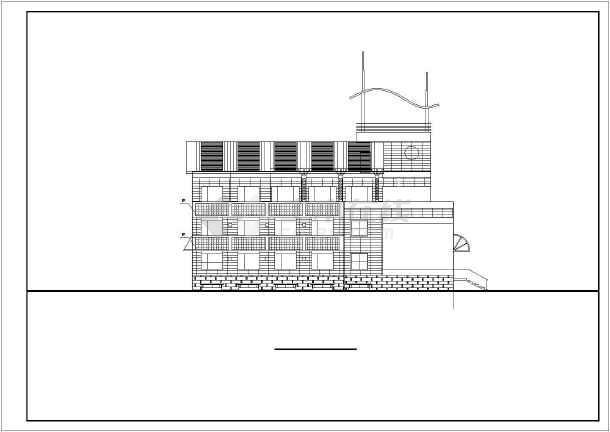 某地区别墅建筑设计图-图1