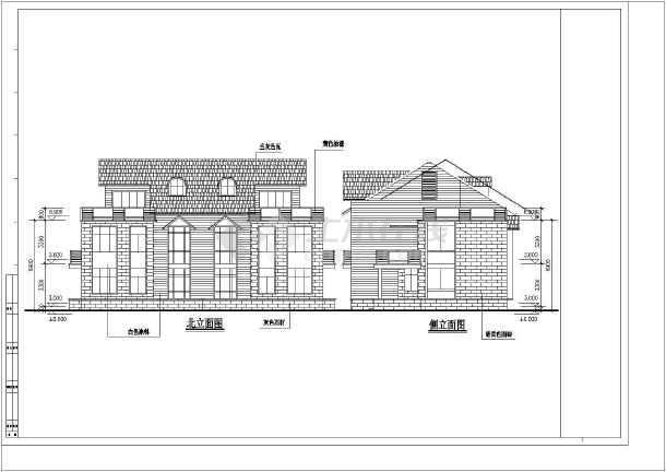 几套别墅建筑设计方案-图1