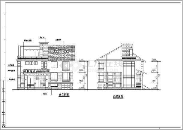几套别墅建筑设计方案-图2