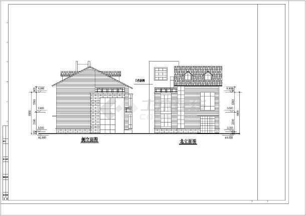 几套别墅建筑设计方案-图3