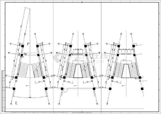 某校区综合楼建筑cad设计图-图2