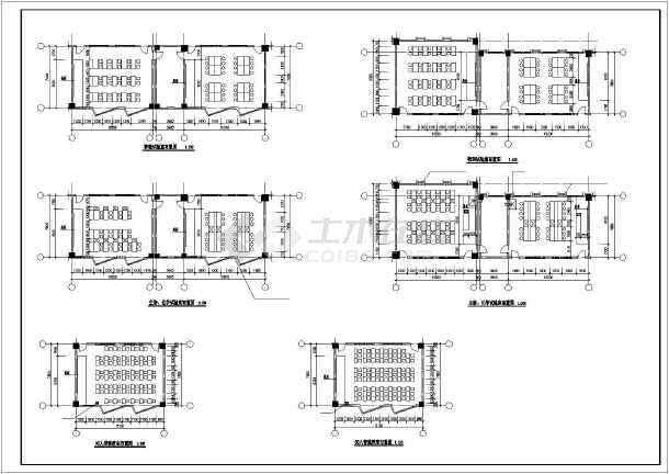 某职业技术学院建筑设计图-图2