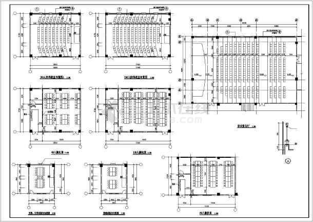 某职业技术学院建筑设计图-图3