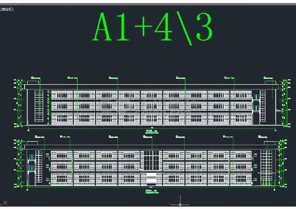 大型科技合作园 5期标准厂房 建筑施工图-图1