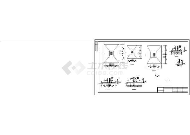 某排架厂房建筑结构图纸-图3