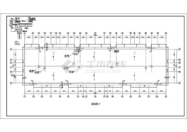 某市小区多层住宅建筑CAD施工图纸-图3