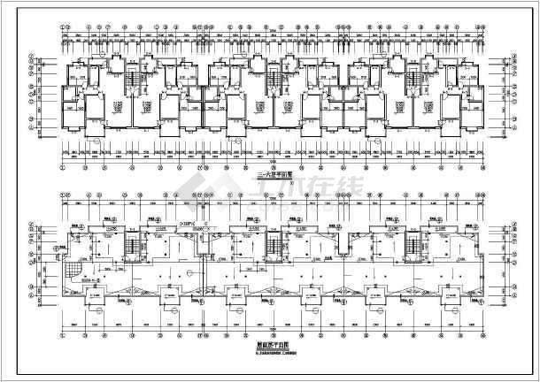 某市住宅区小高层住宅楼CAD建筑设计图-图1