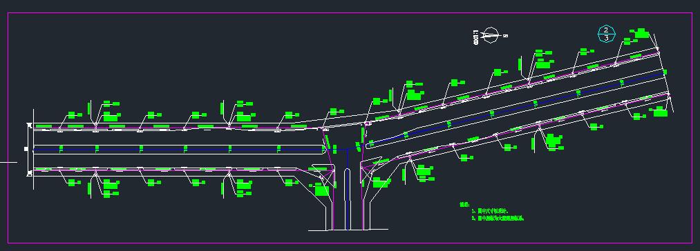 某城市市政给排水管道施工图纸图片3